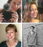 A collage of the authors in Issue 2.1.